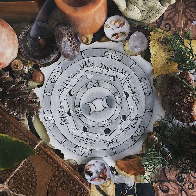 """Ritual de Samhain: """"Deja que las tinieblas retrocedan"""""""