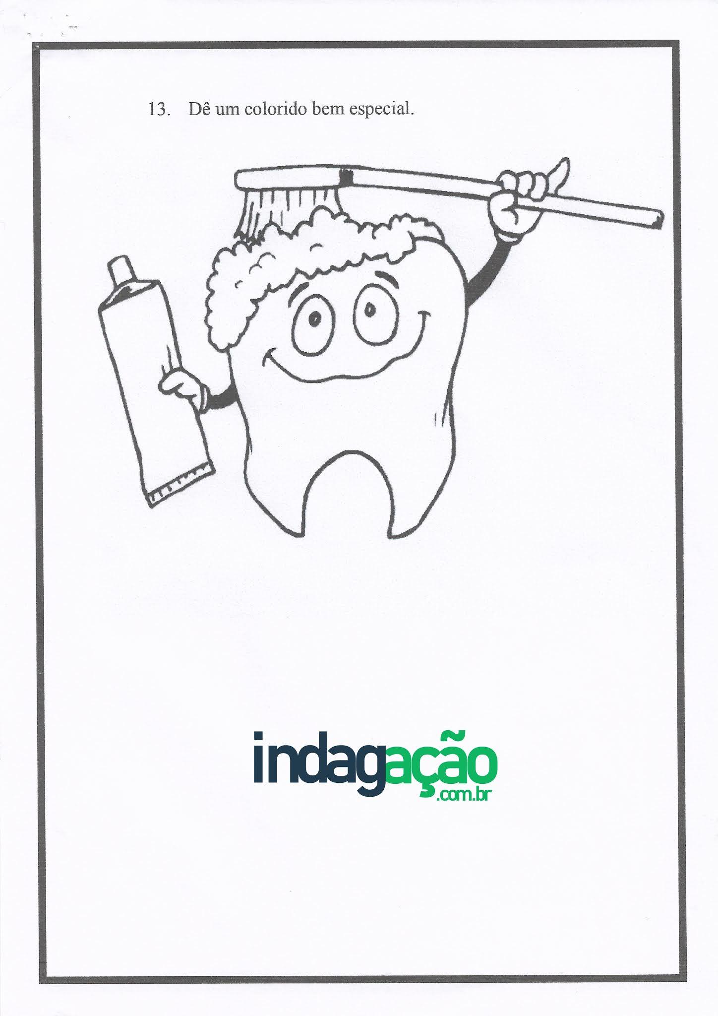 Atividade de Ciências: cuidado com os dentes - Ensino Fundamental