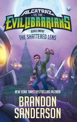 The Shattered Lens (ALCATRAZ VS THE EVIL LIBRARIANS #4) by Brandon Sanderson Pdf