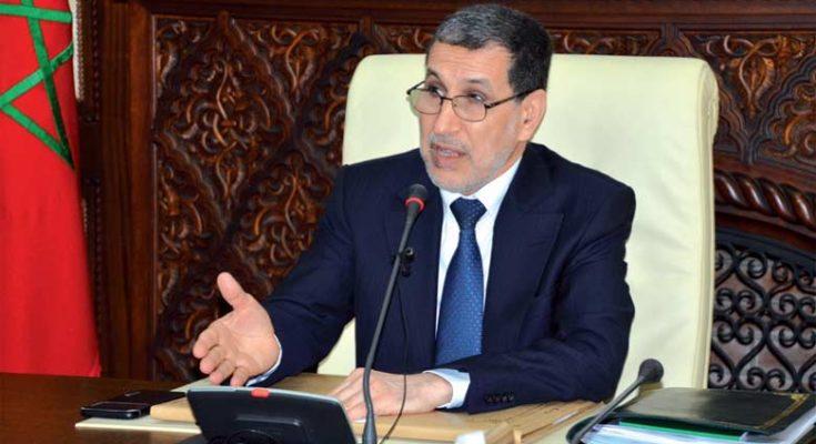 El Otmani: Les plans de transfert des compétences aux administrations régionales en phase finale