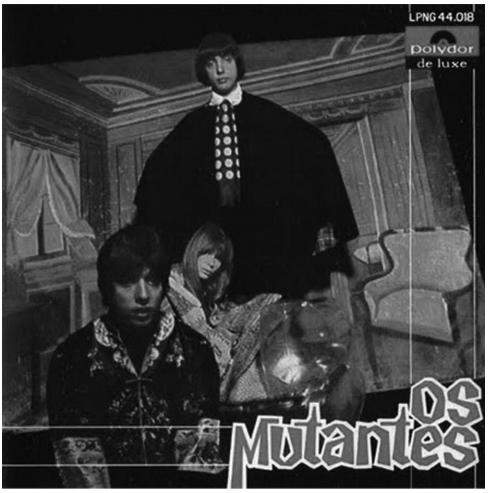 Capa do LP Os Mutantes, 1968.