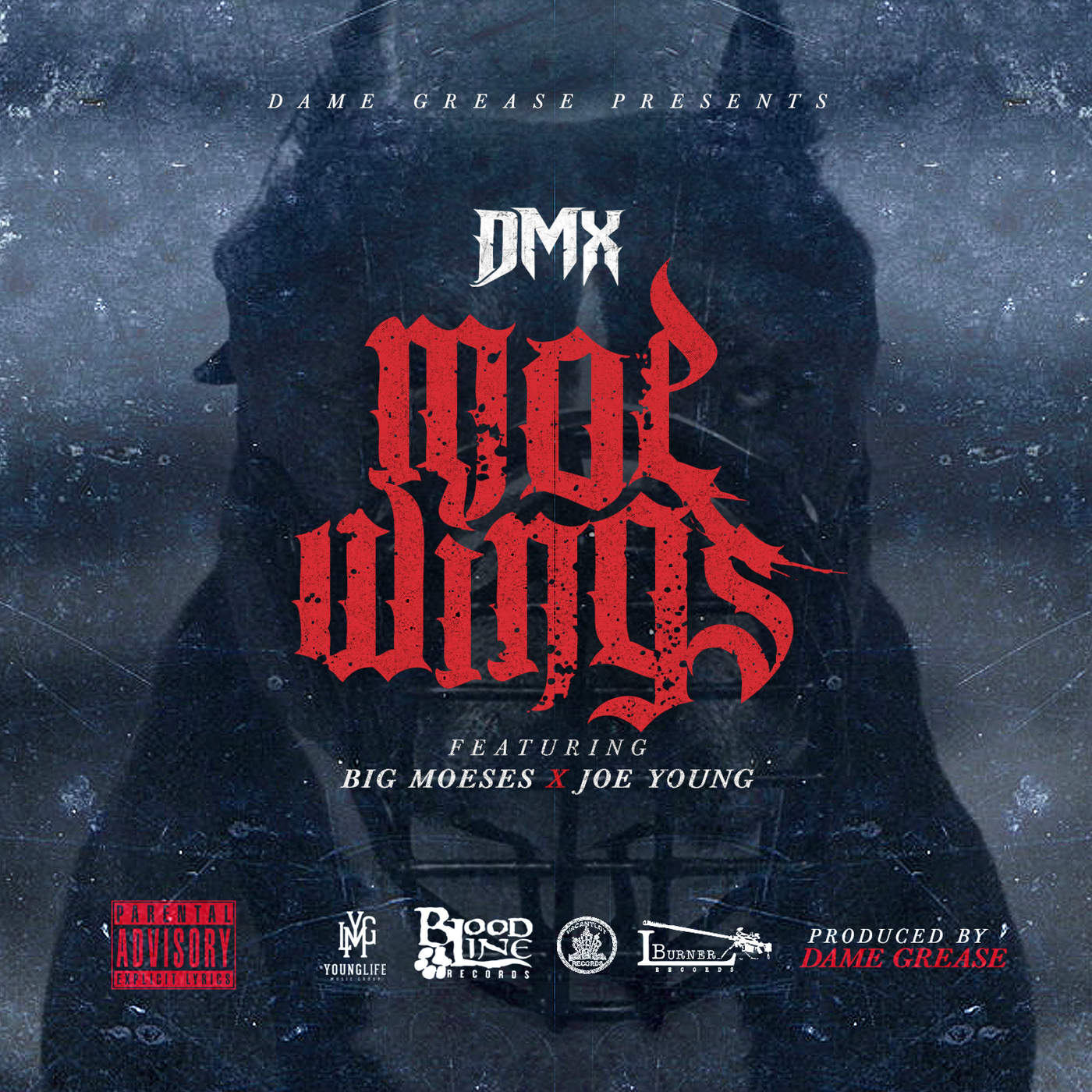 DMX - Moe Wings (feat. Big Moeses & Joe Young) - Single Cover