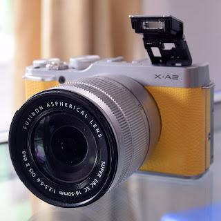 Kamera Mirrorless Fujifilm X-A2 Second Malang