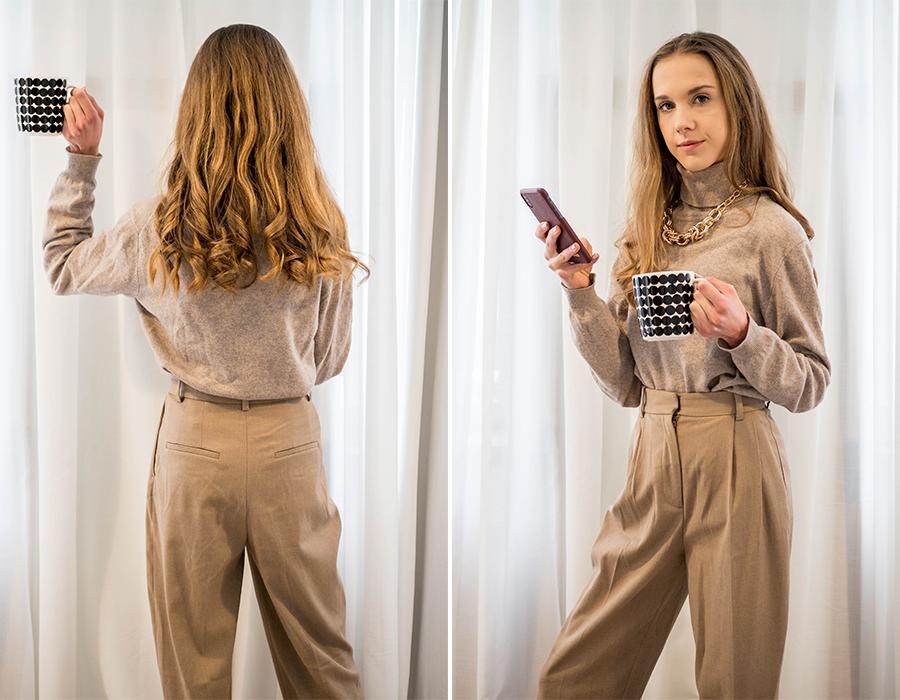 Vinkit yksiväriseen pukeutumiseen // Tips on how to do tonal dressing