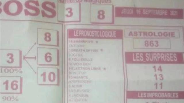 Pronostics quinté pmu jeudi Paris-Turf TV-100 % 16/09/2021