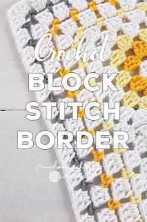 Block Stitch Crochet Border