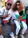Oritsefemi and wife step out to #Endsars protest after reconciliation