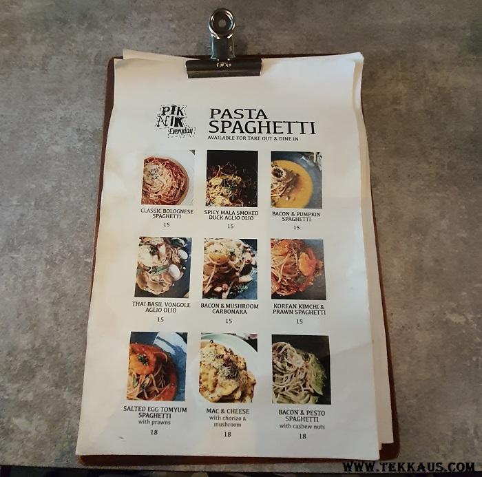 Pik Nik at Nagore Road Penang What To order