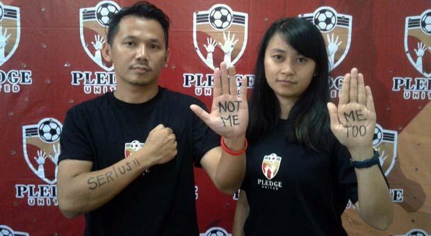 Peringati Hari Wanita Sedunia, FootballPlus Gelar Festival Pledge United