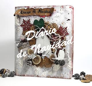 Diario de Navidad de Scrapbook