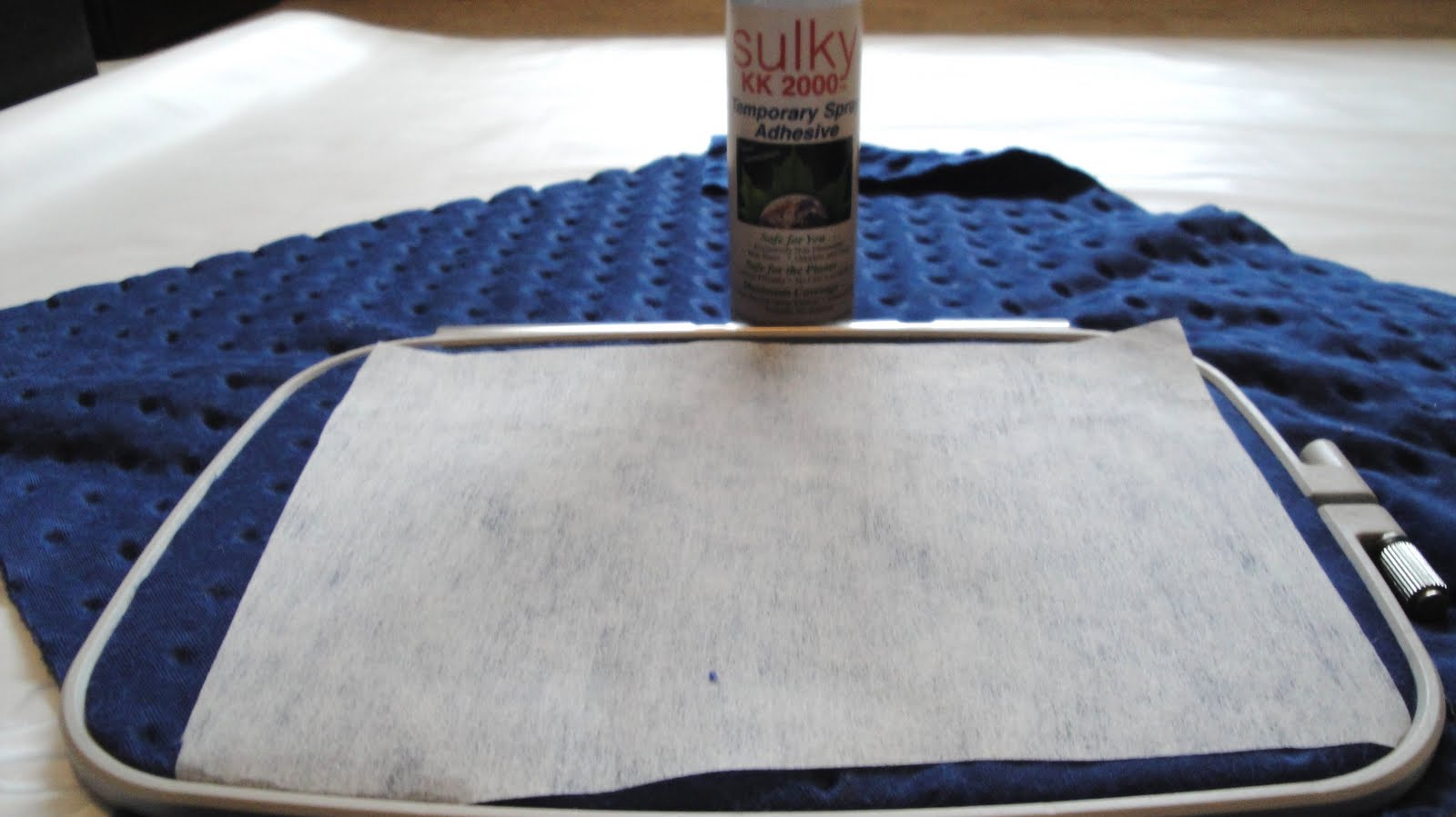 SewChem: Tutorial: How to Embroider on Minky Fabric