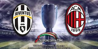 Supercoppa probabili formazioni Juventus Milan video