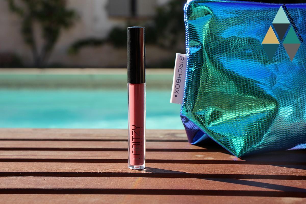 avis et test brillant à lèvres curve Laritzy gloss