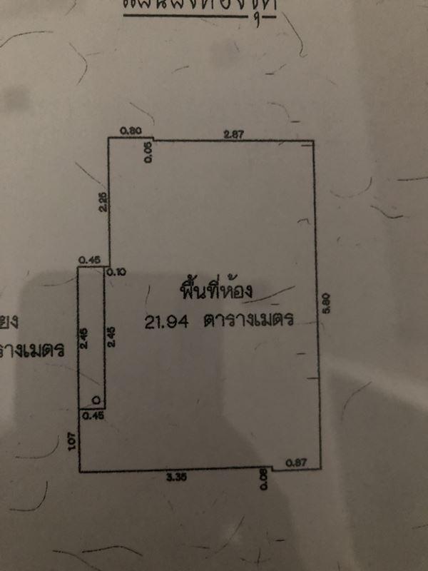 ให้เช่าห้อง คอนโด Noble Revolve Ratchada (โนเบิล รีวอลฟ์ รัชดา) สตูดิโอ 1 ห้องน้ำ 22 ตร.ม. ชั้น 22