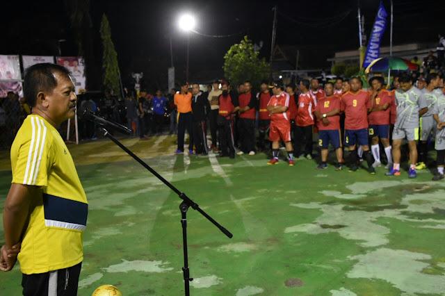 Buka Turnament Futsal Antar SKPD, Bupati : Yang Tidak Hadir Berarti Tidak Berniat Menyemarakkan Hari Jadi Soppeng