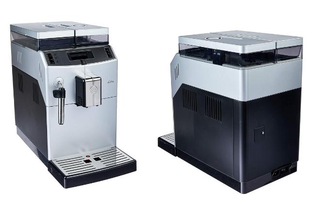 Cafeteira Automática para escritorios Lirika Plus duas vistas