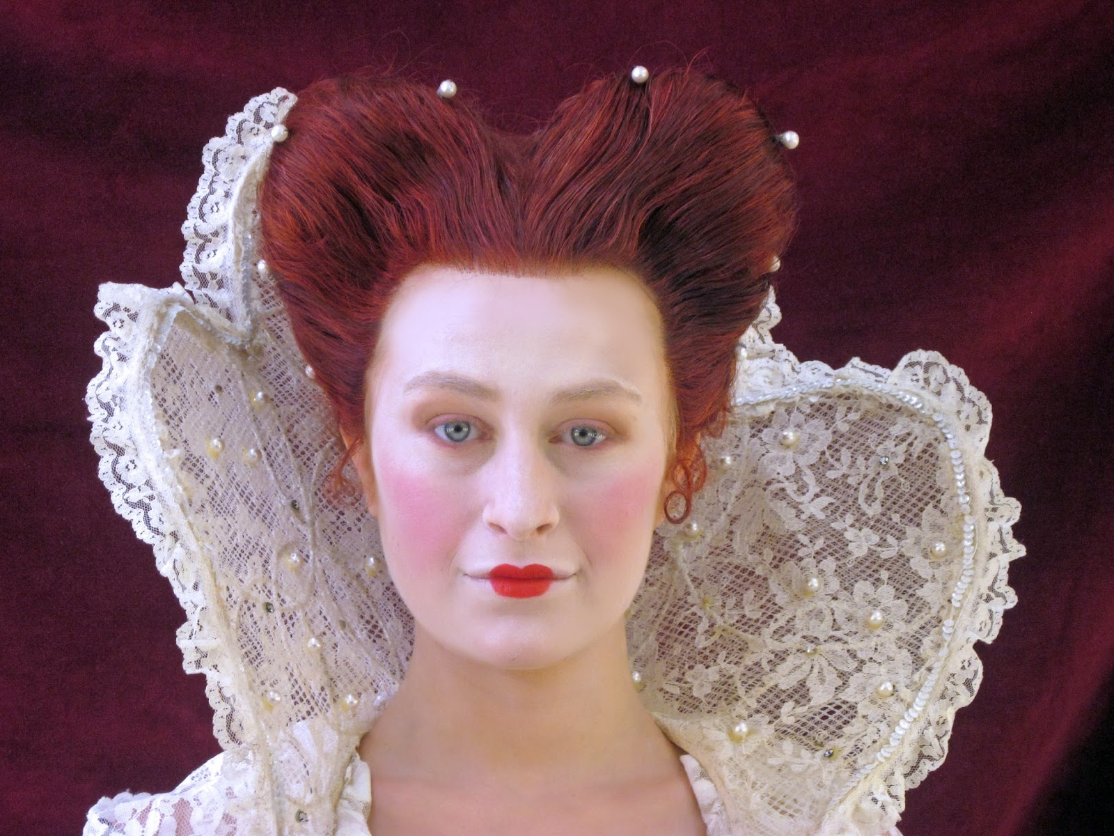Chantelle I See Things In An Abstract Form Elizabethan hairstyles