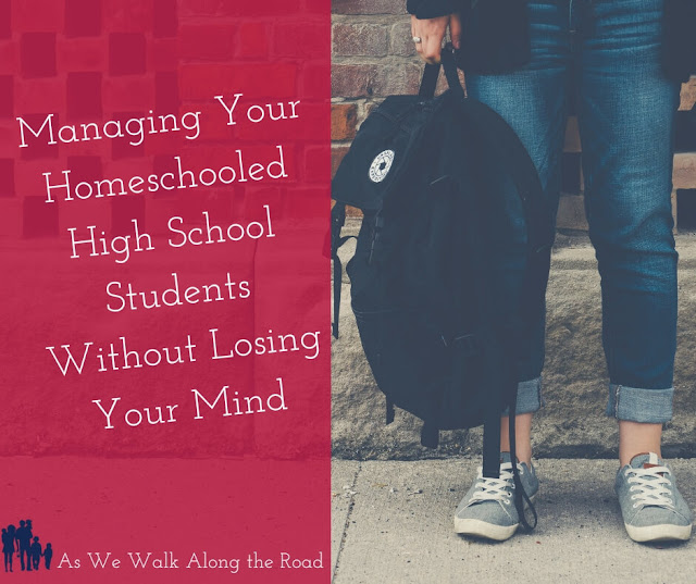 Homeschooling high school without losing your mind