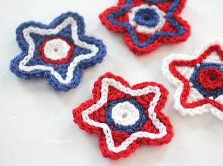 Free July Fourth crochet patterns