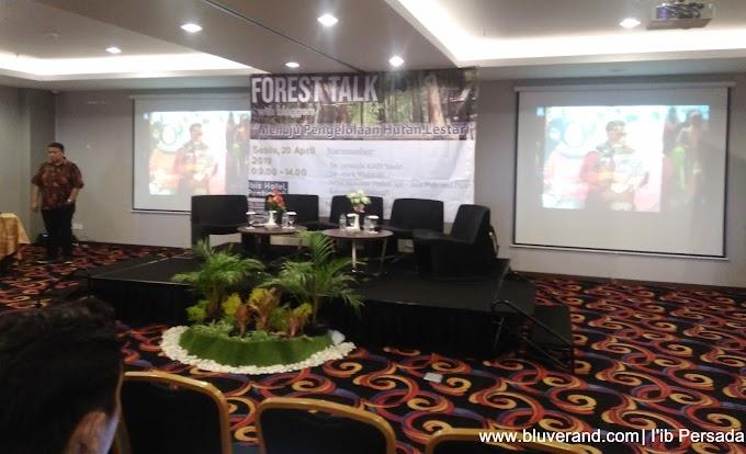 Mengenal Hutan dari Kegiatan Forest Talk with Blogger Pontianak