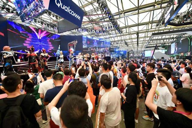 معرض China Joy يشهد حضورا ضخما هذا العام