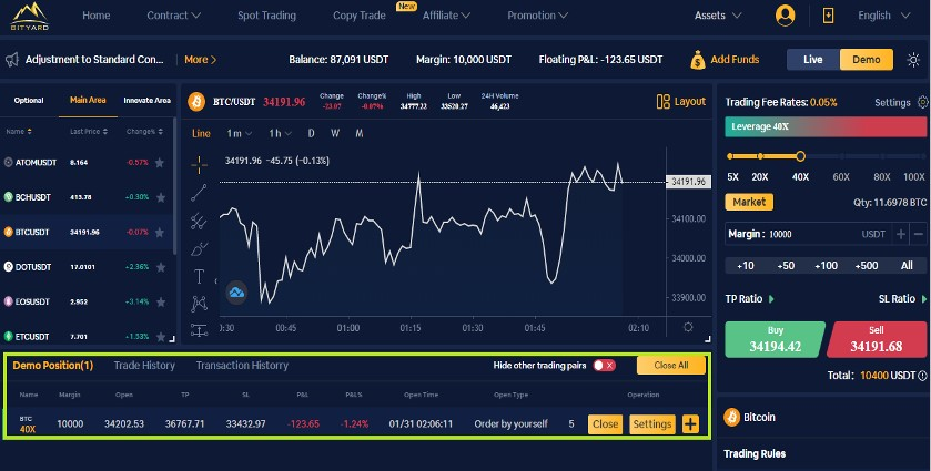 Contract Trading