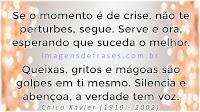 Mensagens de Chico Xavier Reflexão