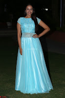 Pujita Ponnada in transparent sky blue dress at Darshakudu pre release ~  Exclusive Celebrities Galleries 128.JPG