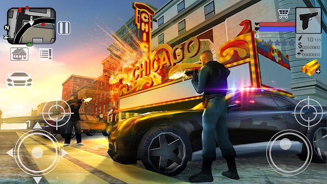 Chicago City Police Story 3D Full Mod APK Android