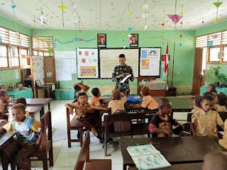 Kurangnya Pengajar Satgas Raider 300 Menjadi Guru