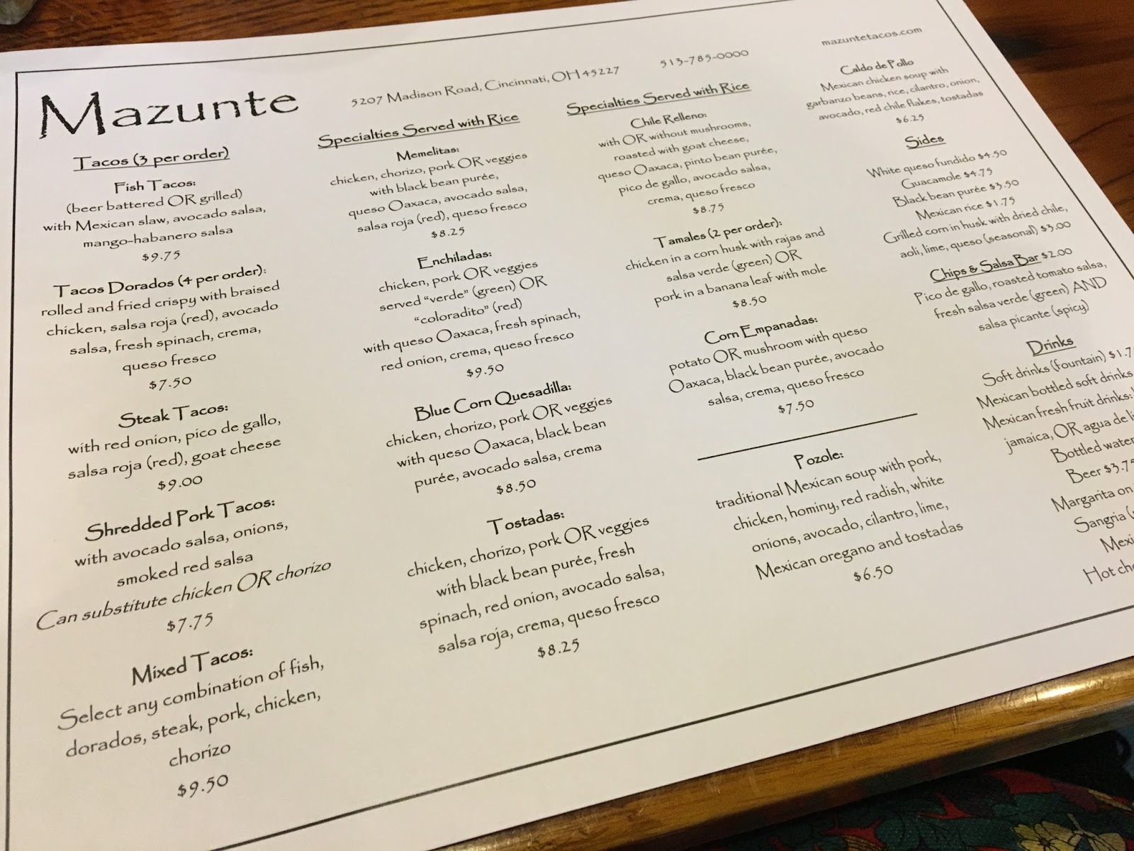 The Gluten & Dairy-Free Review Blog: Mazunte Review