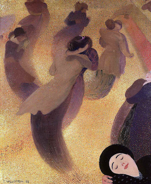 Felix Valloton 1893, the dance floor magic