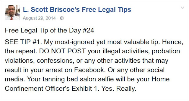 Free Legal Tips #24 @freelegaltips