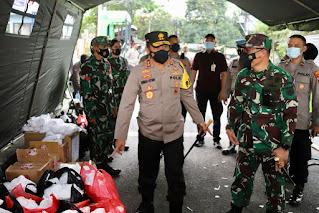 Giat Berbagi Rezeki TNI/Polri Se-Jateng Secara Serentak Berbagi Takjil Pada Masyarakat