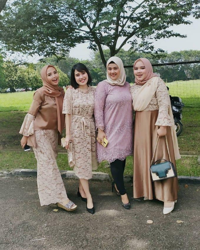 kebaya modern 2020 hijab