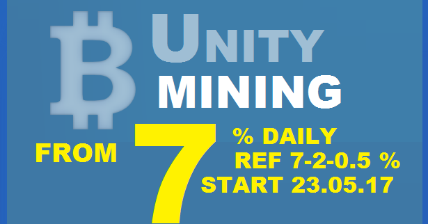 Bitcoin FORUM: UNITY MINING investment review