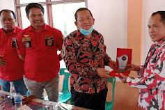 DPP dan DPC PBB Samosir Bersilaturahmi dengan Rapidin Simbolon