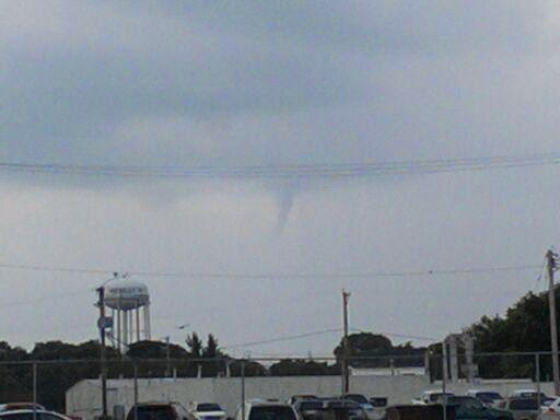 first warn weather team  funnel cloud pictures from storms
