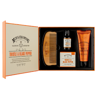 The Scottish Fine Soaps Company - Thistle & Black Pepper Face & Beard Kit