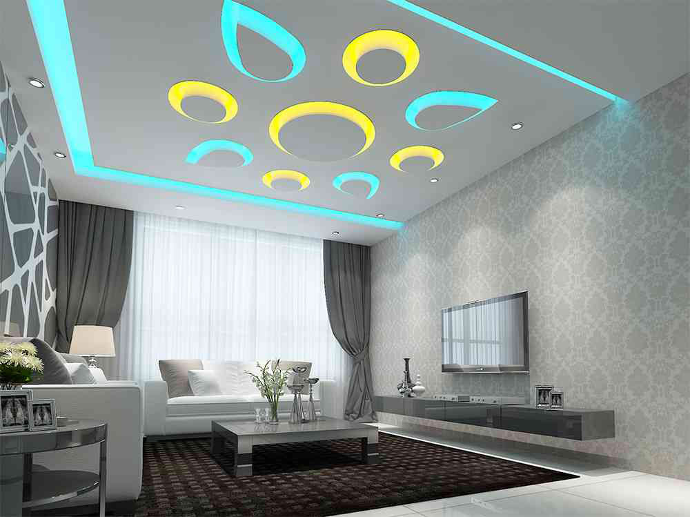 Best 50 pop ceiling design for living room and hall 2019
