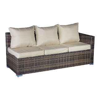 Original UK DEAL: Oseasons OSKM1083SS1A-CS 3 Seater Oxford Rattan Modular SOFA £229.9