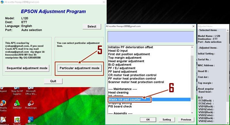 Cara Reset Epson L120 Dengan Resetter 100 % Berhasil - BEDAH PRINTER