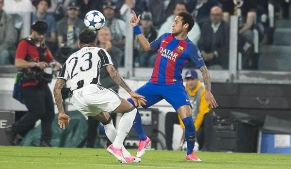 Dani Alves vs Neymar