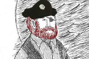 Captain Red Beard (aka Jonathan Barnavelt)