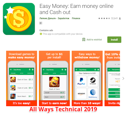 Earning Money Apps For Android - Easy Money
