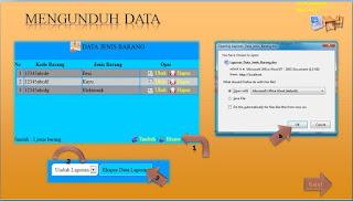 halaman unduh data