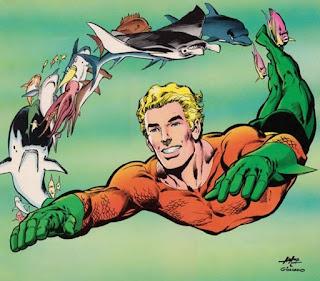 El traje de Aquaman, discreto no era