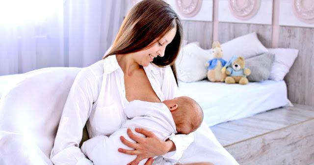 طرق لزيادة حليب الام