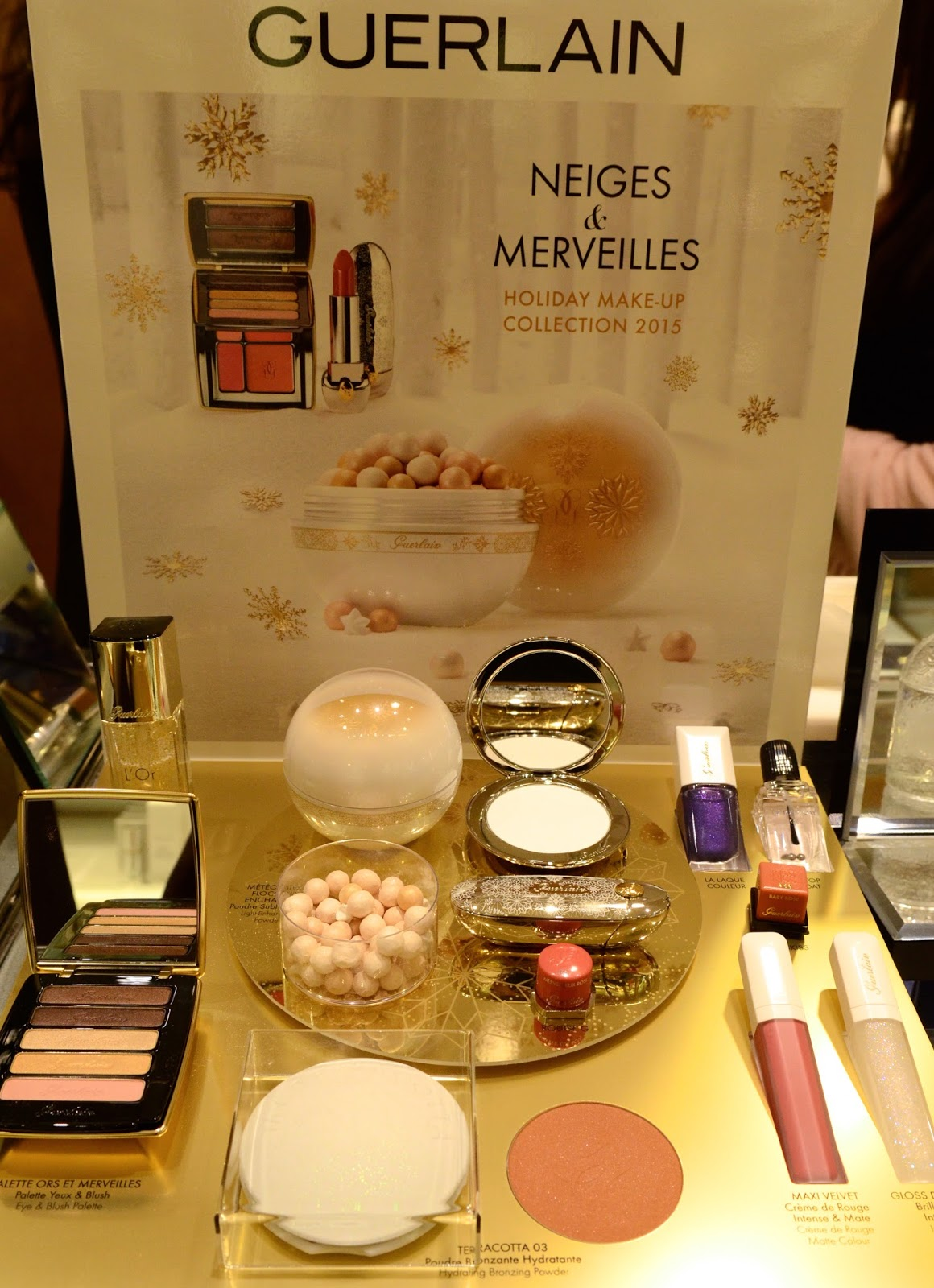 guerlain holiday 2015 swatches and review