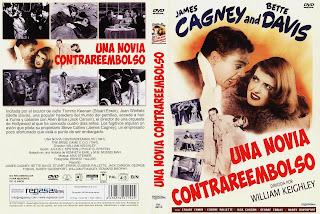 Carátula dvd: Una novia contrareembolso (1941) The Bride Came C.O.D.